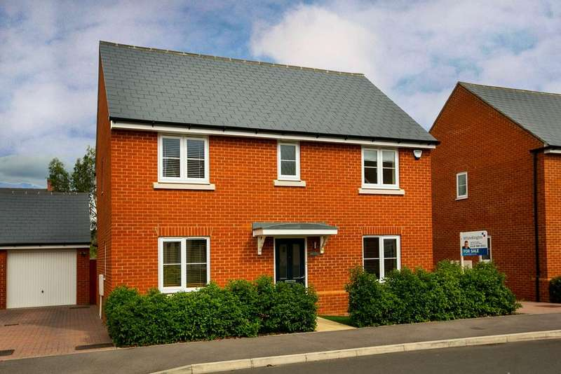 4 Bedrooms Detached House for sale in Tabby Drive, Three Mile Cross, Reading, RG7 1WP