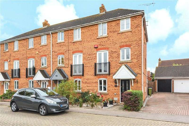 3 Bedrooms End Of Terrace House for sale in St Bartholomews, Monkston, Milton Keynes