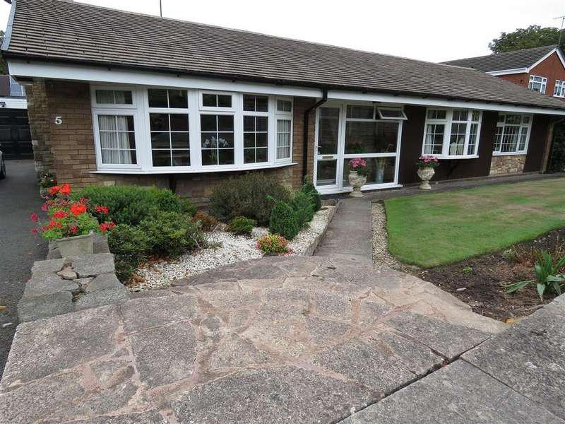 3 Bedrooms Detached Bungalow for sale in Warrens Croft, Walsall