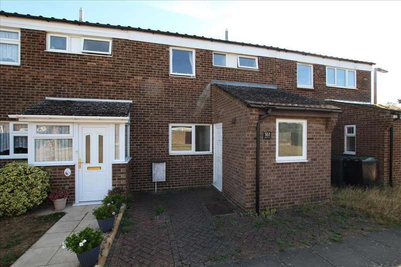 3 Bedrooms Terraced House for sale in Stratton Way, Biggleswade, SG18