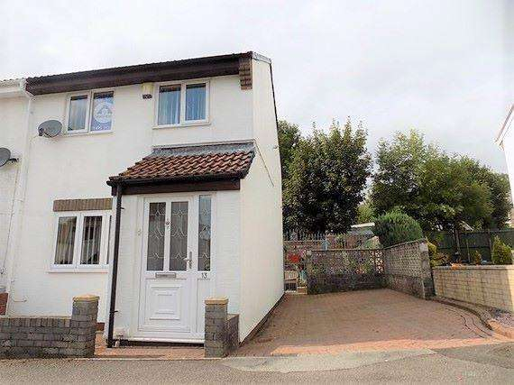 3 Bedrooms End Of Terrace House for sale in Queen Street, Blaina, NP13 3JU