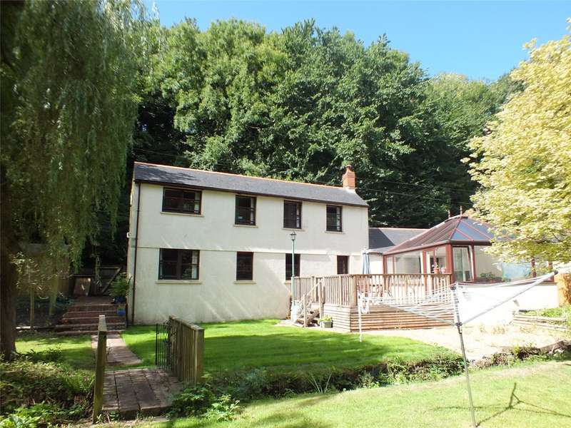 5 Bedrooms Detached House for sale in Lakeside Cottage, Havens Head, Milford Haven, Pembrokeshire