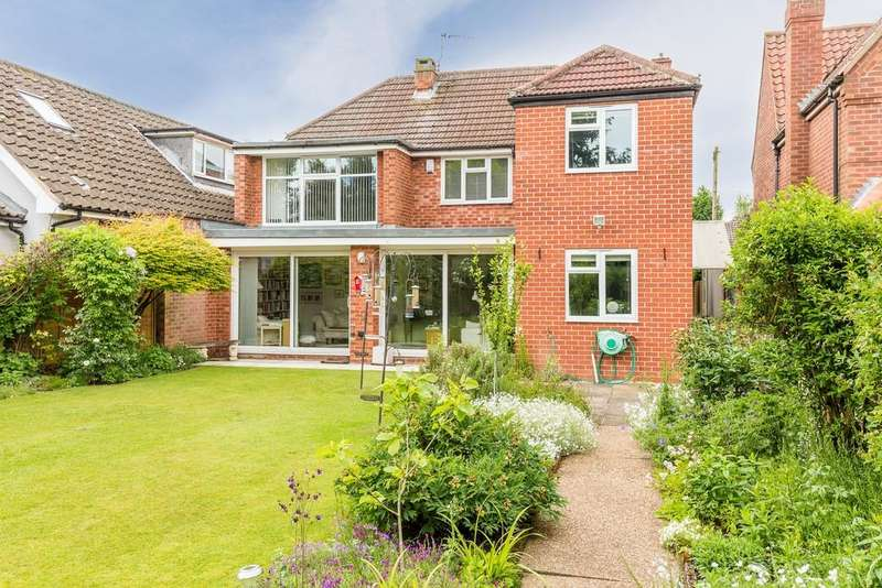 4 Bedrooms Detached House for sale in Geralds Close, Lincoln
