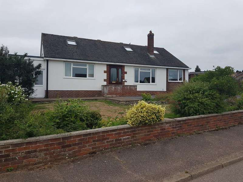 4 Bedrooms Detached Bungalow for sale in Abbey Close, Axminster, Devon