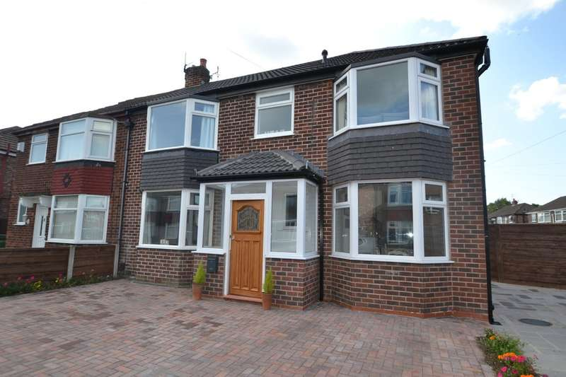4 Bedrooms Semi Detached House for sale in Ellesmere Drive, Cheadle