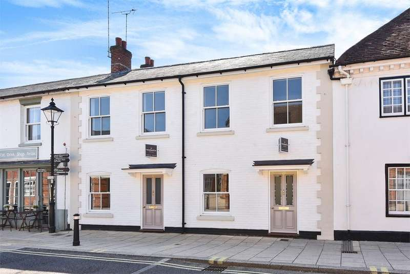 4 Bedrooms Terraced House for sale in Latimer Street, Romsey, Hampshire, SO51