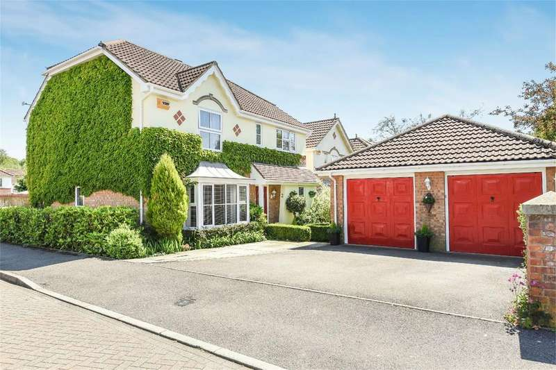 4 Bedrooms Detached House for sale in Wild Cherry Way, Chandler's Ford, Hampshire, SO53