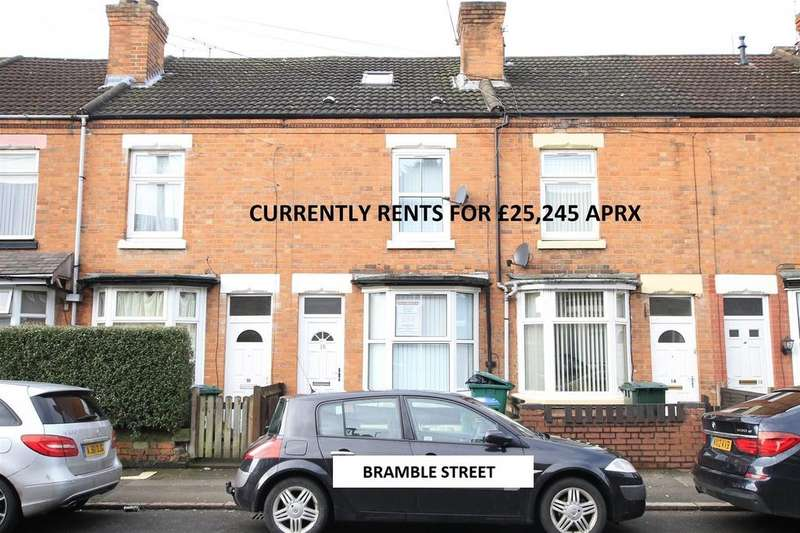 5 Bedrooms Terraced House for sale in Bramble Street, HMO - rents for 25k pa