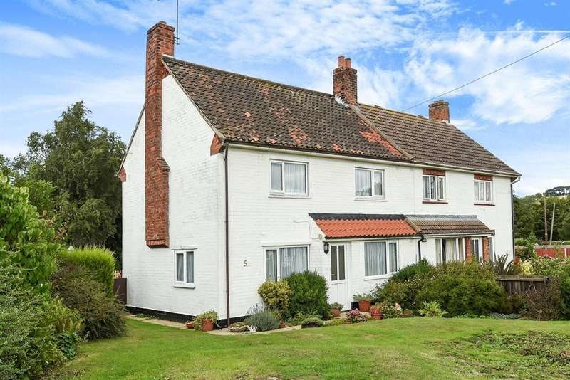 3 Bedrooms Semi Detached House for sale in North Road Close, Tetford, Horncastle, Lincs, LN9 6QJ