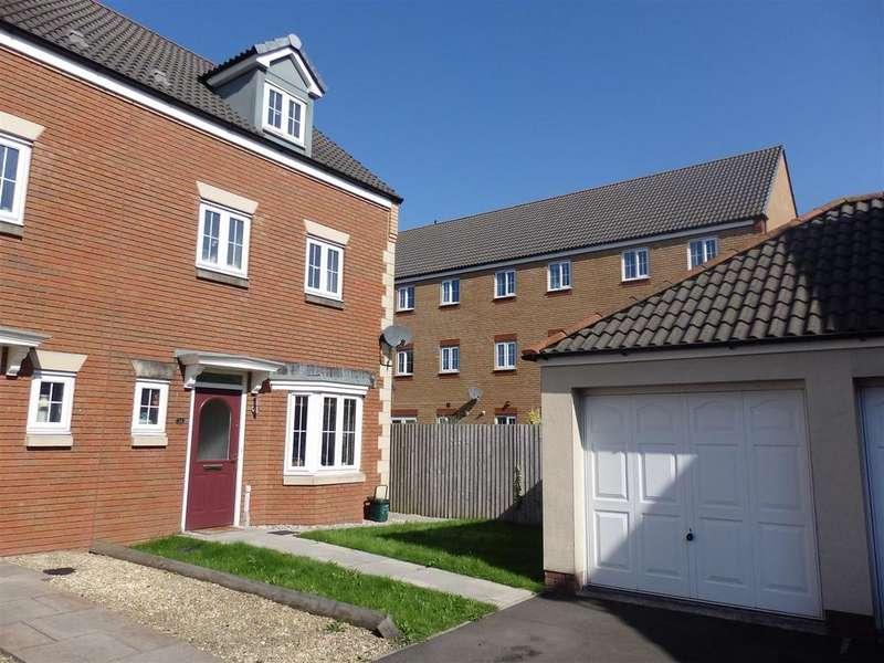 4 Bedrooms Semi Detached House for sale in Ffordd Y Gamlas, Bynea, Llanelli