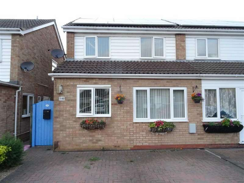 2 Bedrooms Semi Detached House for sale in Falconers Green, Burbage
