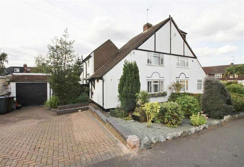 3 Bedrooms Semi Detached House for sale in Tennison Avenue, Borehamwood, Herts