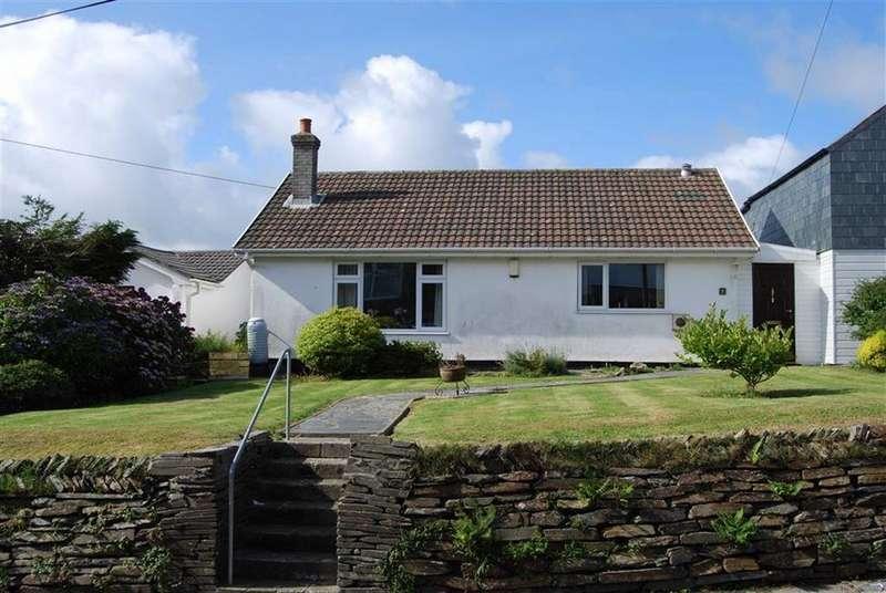 3 Bedrooms Bungalow for sale in Pengelly, Delabole, Cornwall, PL33