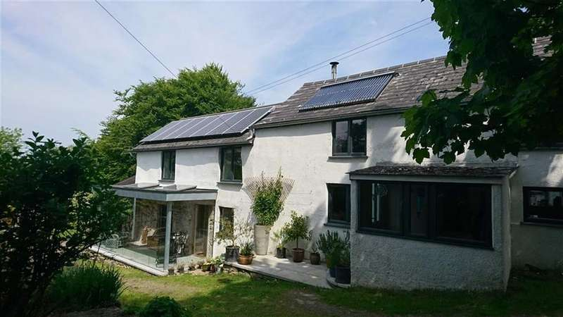 4 Bedrooms Detached House for sale in Southerly, Sourton, Okehampton, Devon, EX20
