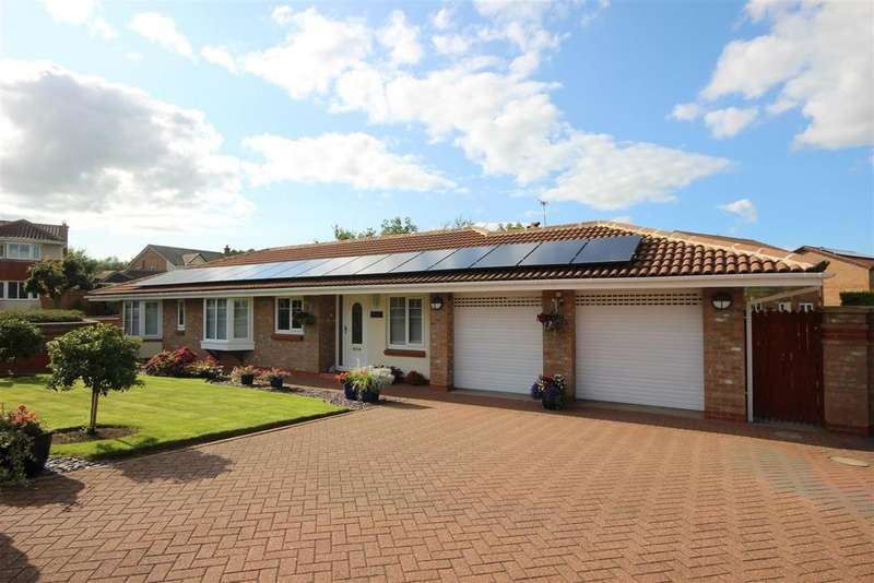 4 Bedrooms Detached Bungalow for sale in Acle Burn, Woodham