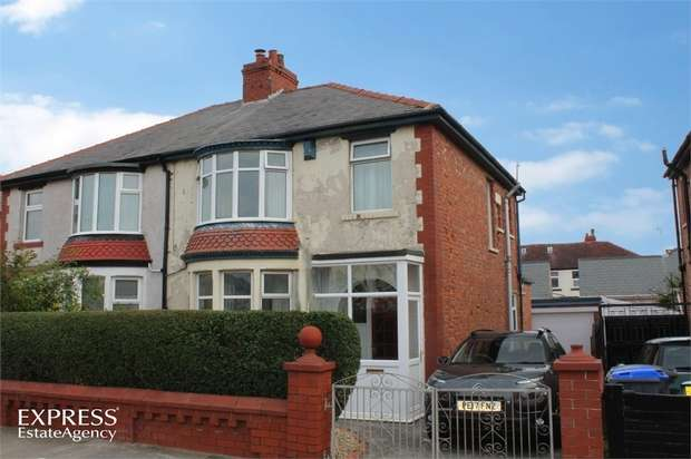 3 Bedrooms Semi Detached House for sale in Westfield Road, Blackpool, Lancashire