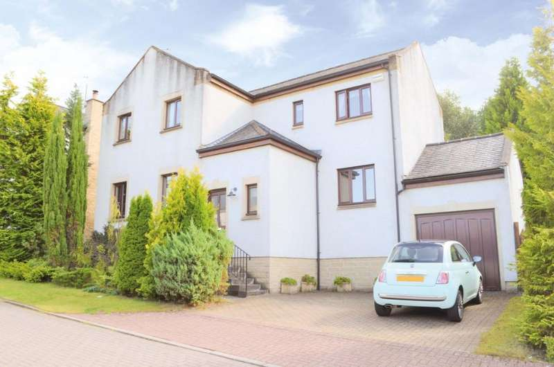 4 Bedrooms Detached House for sale in Marquis Gate, Bothwell, Glasgow, G71 7HY