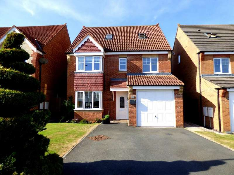 5 Bedrooms Detached House for sale in Grenadier Close, Stockton-On-Tees, TS18