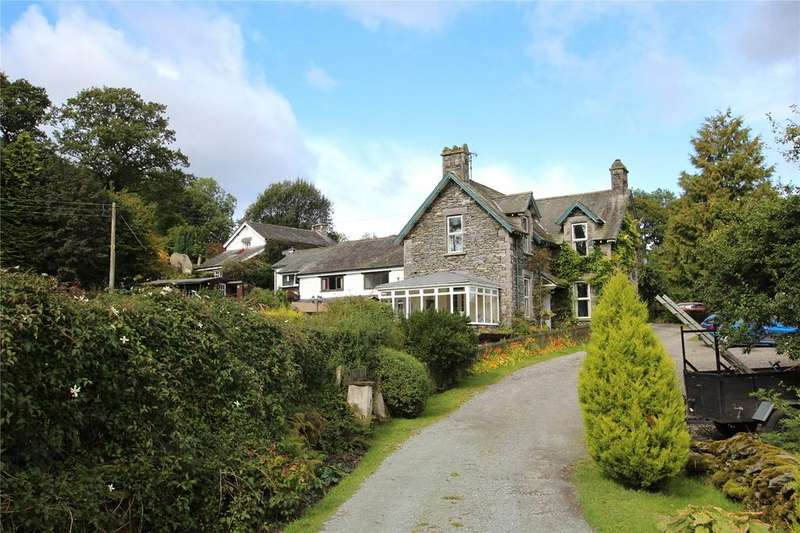 3 Bedrooms Detached House for sale in Bateman Fold House, Crook, Lake District, Cumbria