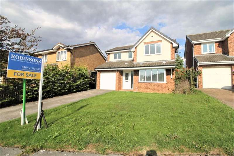 4 Bedrooms Detached House for sale in Southwood, Coulby Newham, Middlesbrough