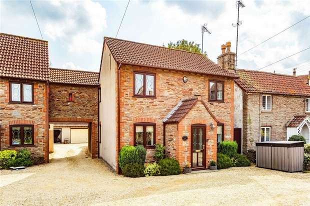 4 Bedrooms Detached House for sale in Moorend Road, Hambrook, Bristol, Gloucestershire