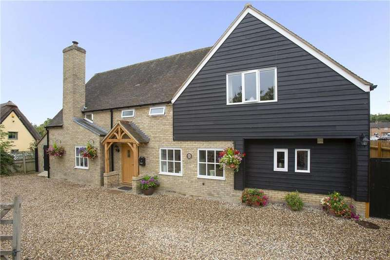4 Bedrooms Detached House for sale in High Street, Haslingfield, Cambridge, CB23