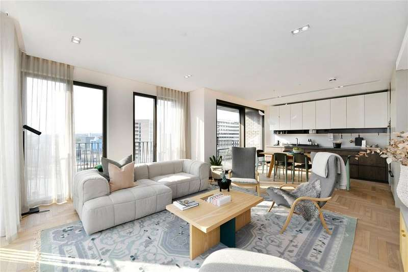 3 Bedrooms Apartment Flat for sale in Lewis Cubitt Walk, Kings Cross, N1C