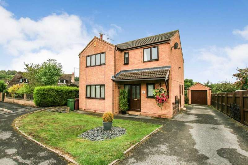 4 Bedrooms Detached House for sale in Ennerdale Close, Dronfield Woodhouse, Derbyshire, S18 8PL
