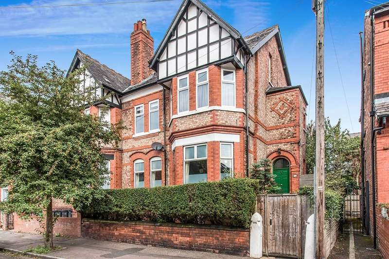 5 Bedrooms Semi Detached House for sale in Grosvenor Road, Whalley Range, Manchester, M16