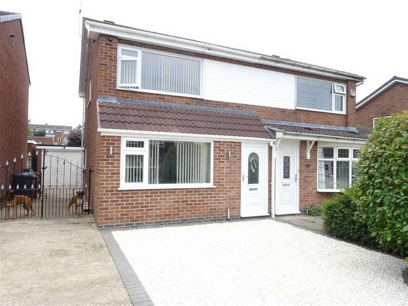 3 Bedrooms Semi Detached House for sale in Clifton Way, Hinckley