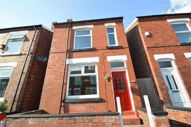 3 Bedrooms Detached House for sale in Countess Street, Heaviley, Stockport, Cheshire
