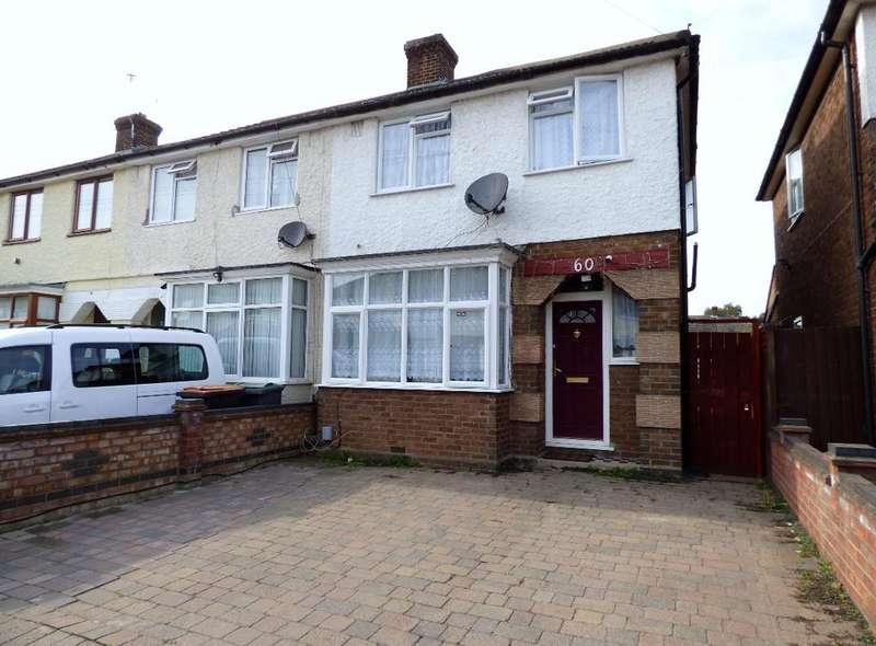 3 Bedrooms End Of Terrace House for sale in Hazelwood Road, Bedford, MK42 0HW