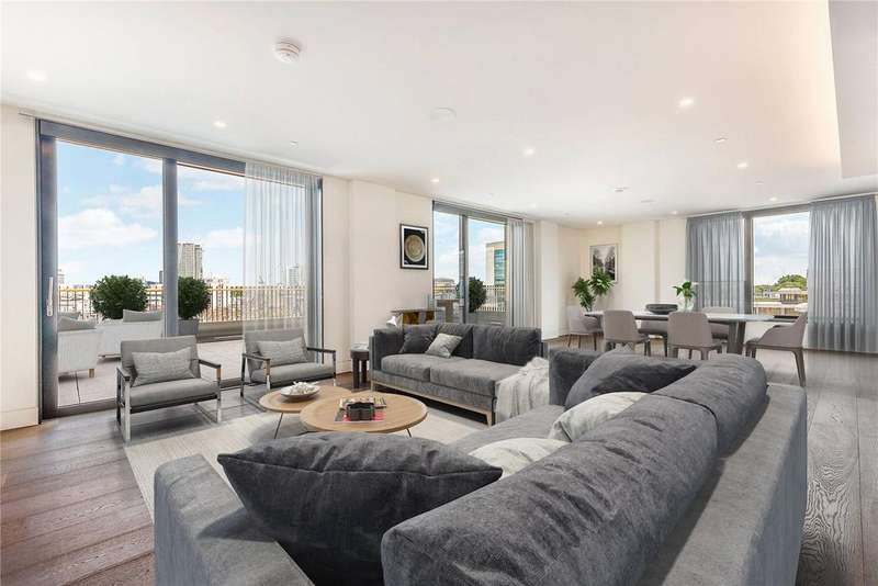 4 Bedrooms Flat for sale in Rathbone Square, Rathbone Place, London, W1T