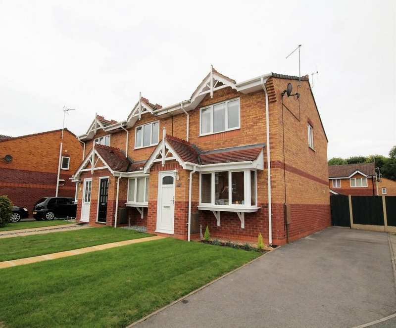 2 Bedrooms End Of Terrace House for sale in Foxwood Drive, Wrexham