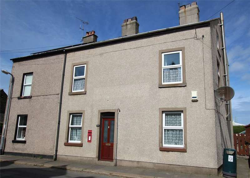 4 Bedrooms Semi Detached House for sale in 1 Main Street, Silecroft, Millom, Cumbria