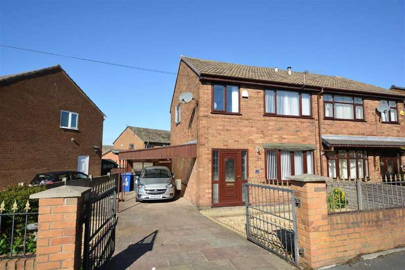 3 Bedrooms Semi Detached House for sale in Taylors Lane, Springview, Wigan, WN3