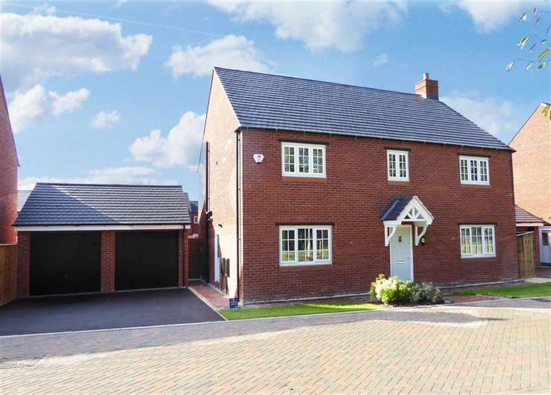 4 Bedrooms Detached House for sale in Parsons Piece, Banbury
