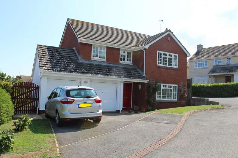 4 Bedrooms Detached House for sale in Whitecross Drive, Weymouth