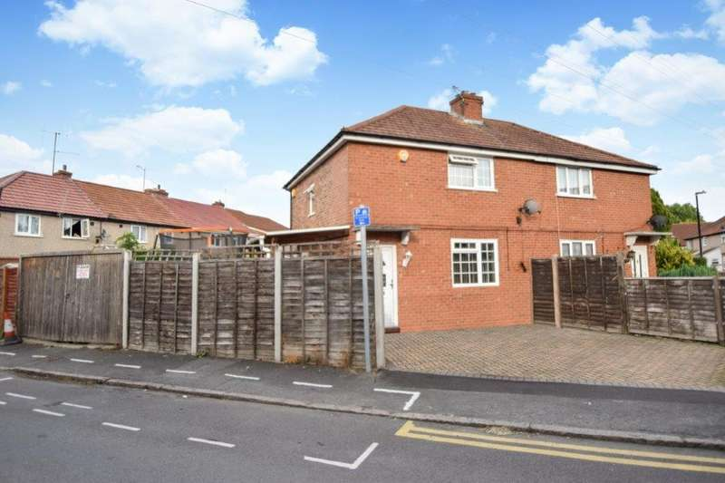 3 Bedrooms Semi Detached House for sale in Myrtle Crescent, Slough, SL2