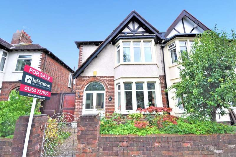 3 Bedrooms Semi Detached House for sale in Devonshire Road, Blackpool, Lancashire, FY2 0TJ