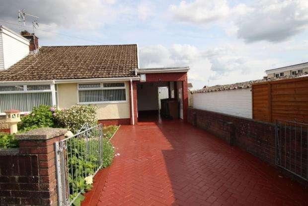 2 Bedrooms Semi Detached Bungalow for sale in Duffryn Close, Penpedairheol, Hengoed CF82