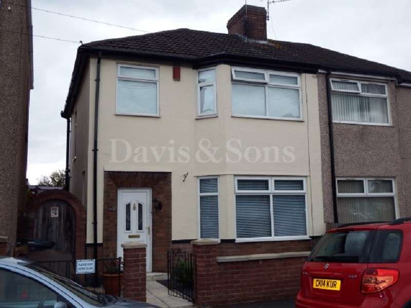 3 Bedrooms Semi Detached House for sale in Collingwood Road, Newport, Gwent. NP19 0JA