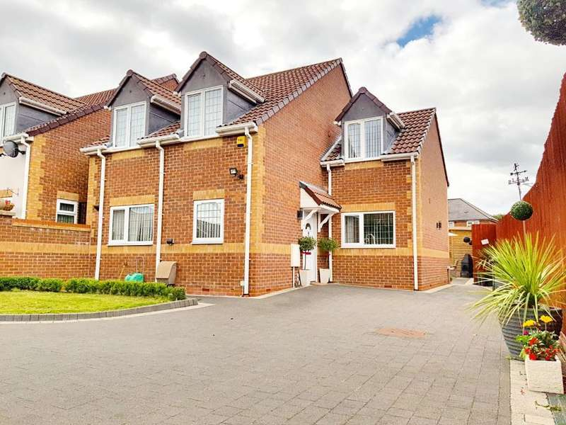 3 Bedrooms Detached House for sale in FARLEY ROAD, WEST BROMWICH, WEST MIDLANDS, B70 9AN