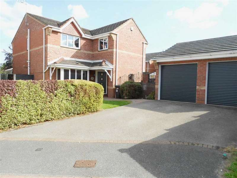 4 Bedrooms Detached House for sale in Thorntree Drive, Coppenhall, Crewe, Cheshire