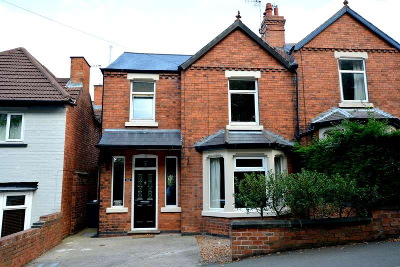 3 Bedrooms Semi Detached House for sale in Park Road, Chesterfield, S40 2LG