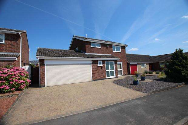 4 Bedrooms Detached House for sale in Somerset Close, Melton Mowbray, LE13