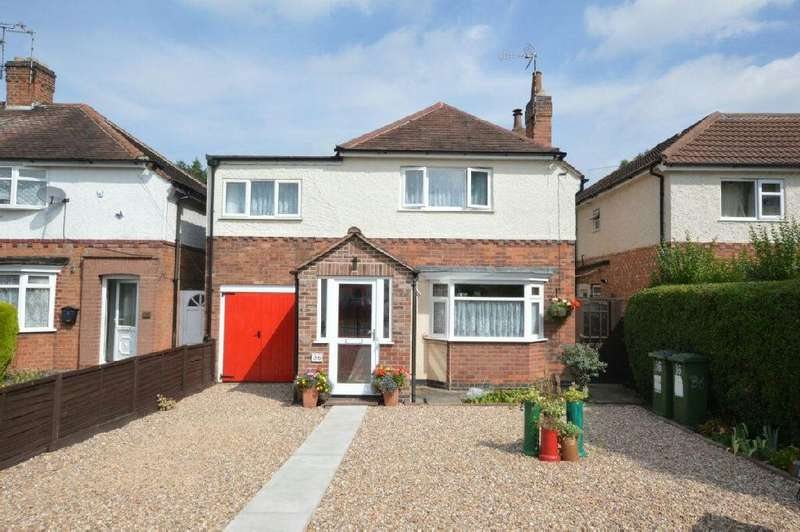 3 Bedrooms Detached House for sale in Hillsborough Road, Glen Parva, Leicester