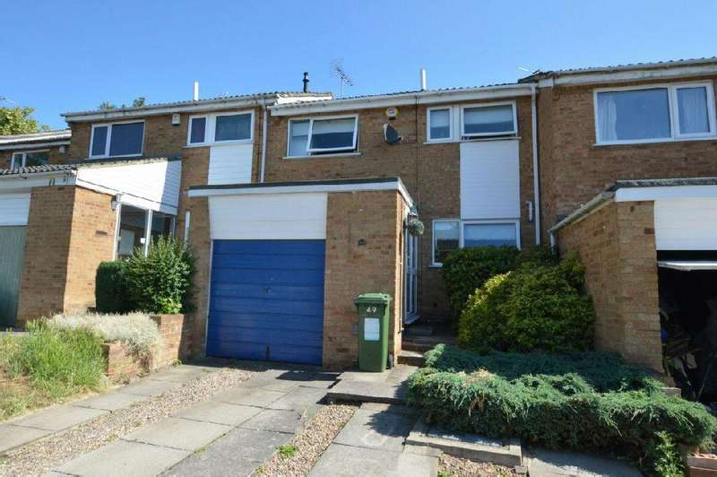 3 Bedrooms Terraced House for sale in Sonning Way, Glen Parva, Leicester