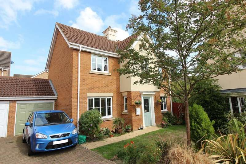 4 Bedrooms Detached House for sale in Swallow Close, Shefford, SG17