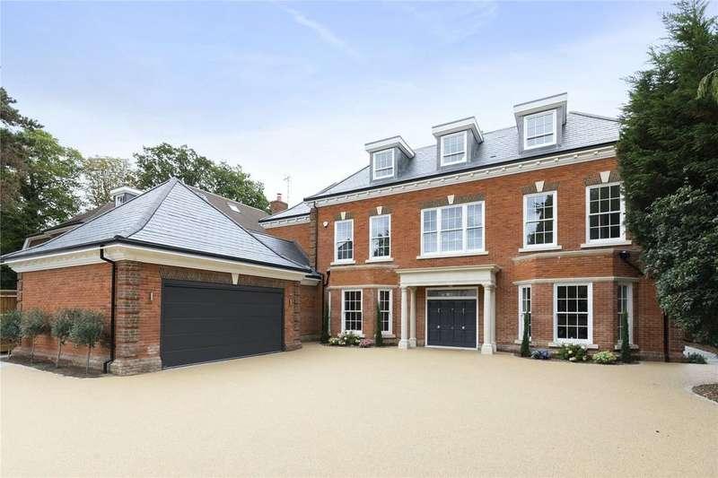 5 Bedrooms Detached House for sale in Fairbourne, Cobham, KT11